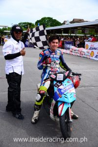 Aljon Valencia - Super Scooter winner