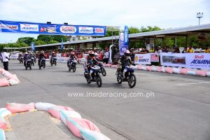 Starting Grid - Super Yamaha Vega