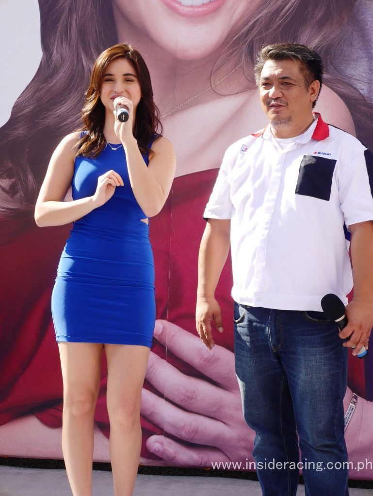 Celebrity Coleen Garcia graced the grand opening of the Royce-Suzuki 3S Shop in Cabanatuan