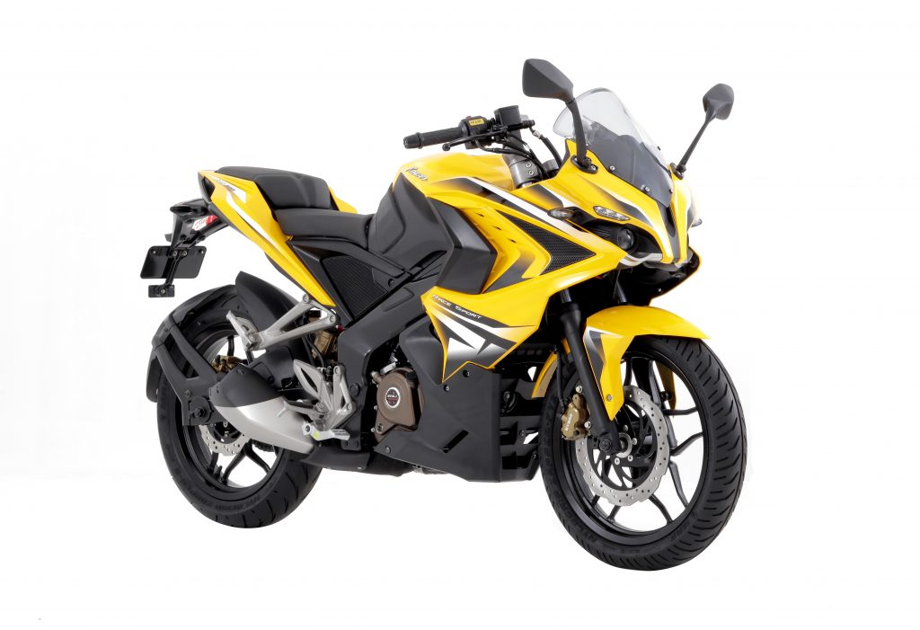 rouser-rs200-yellow