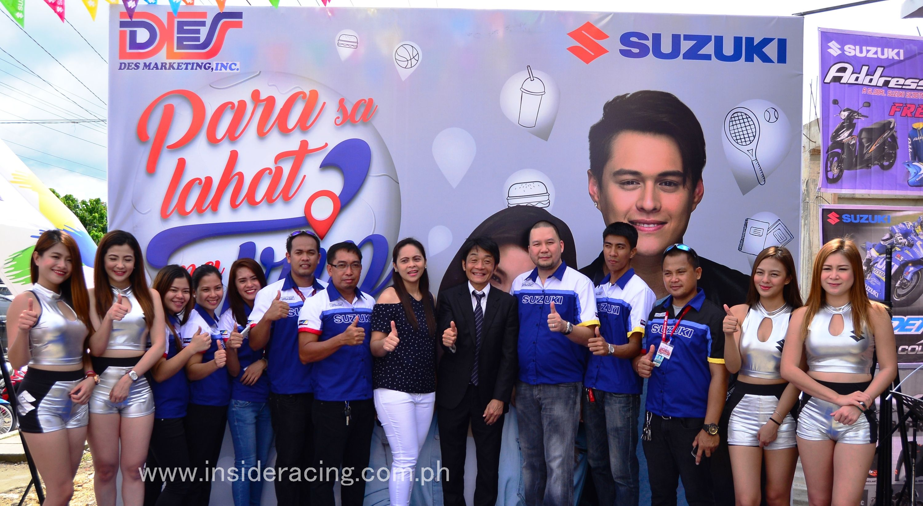 Ir News Des Marketing Launches Suzuki 3s Shop In Ormoc
