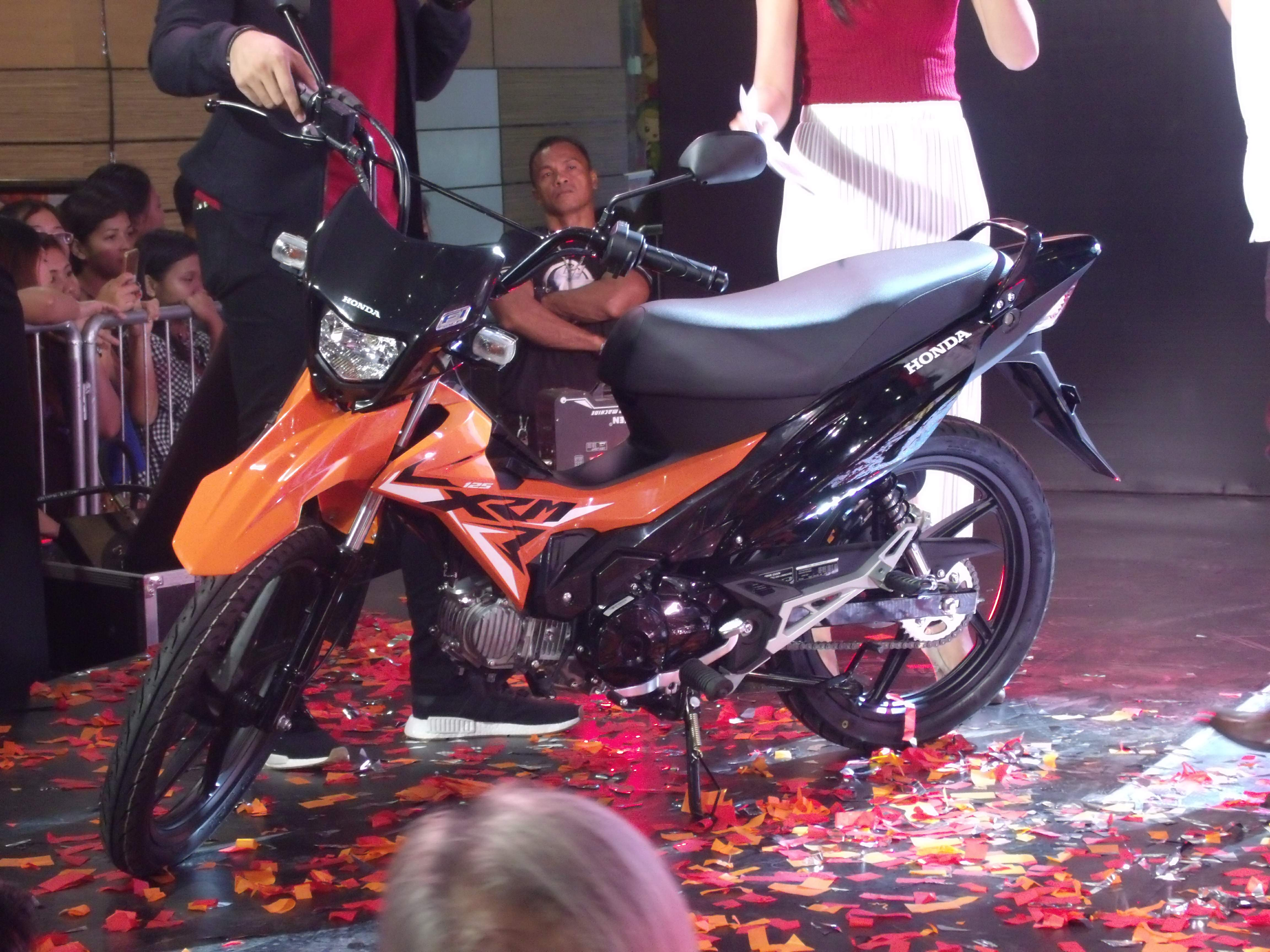 2018 honda xrm 125. exellent xrm hpi will continue to bring the joy of urban riding in other key cities  country when it holds another series mall invasion activities throughout 2018 honda xrm 125
