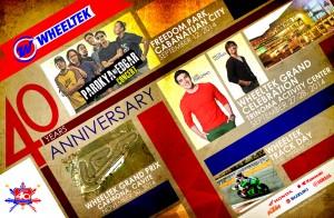 Wheeltek 40th Anniversary