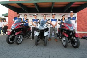 Yamaha Executives with Gretchen Ho, James Reid and Gaby De La Merced