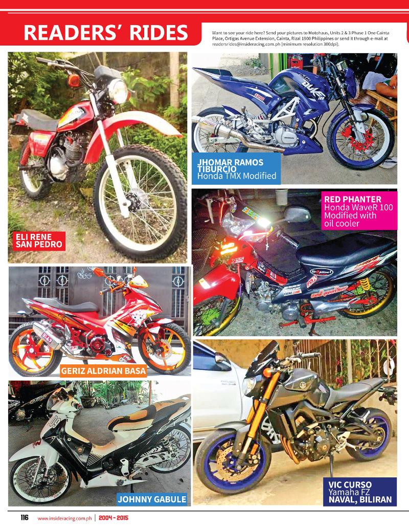 VOL13NO4 Readers Rides
