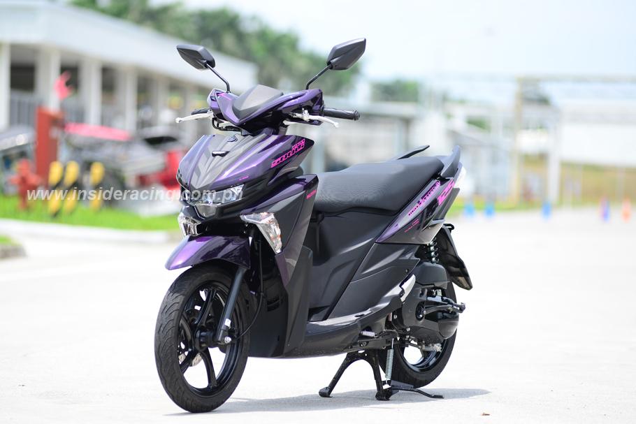 Mio Yamaha Set Up
