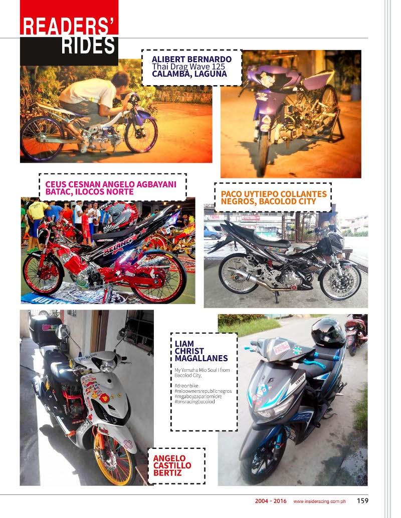VOL14NO1 Page 159 Readers Ride