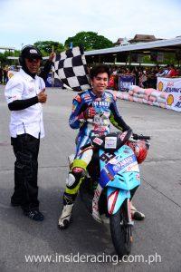 Aljon Valencia - Super Scooter winner