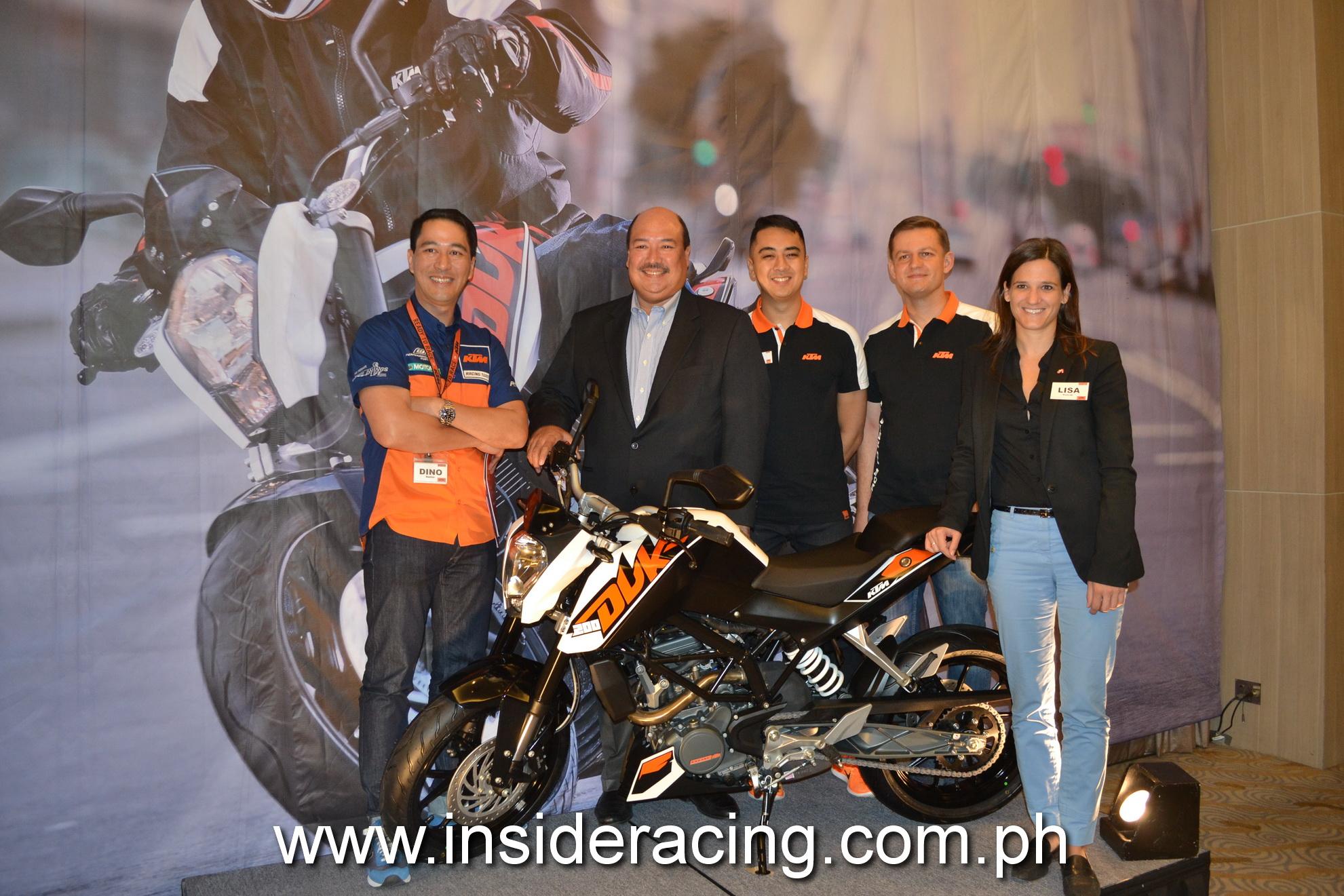 Ayala's Adventure Cycle Philippines, Inc  and KTM partnership