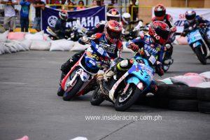 Aljon Valencia of Yamaha-Spec V (93) followed by Vingie Coloma of Yamaha MW 323 (25)