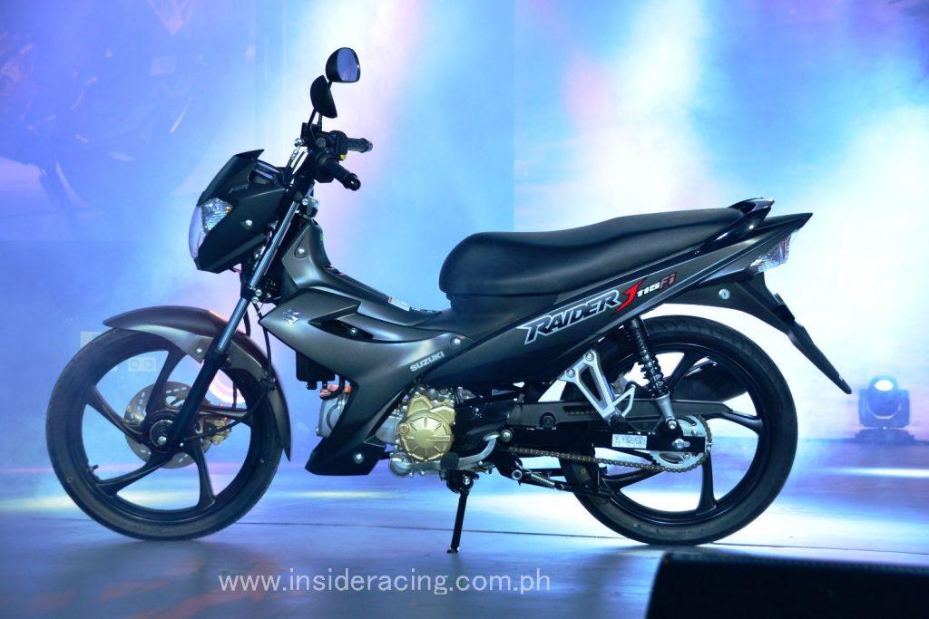 The Suzuki Raider J 115 Fi Matte Black Premium Edition