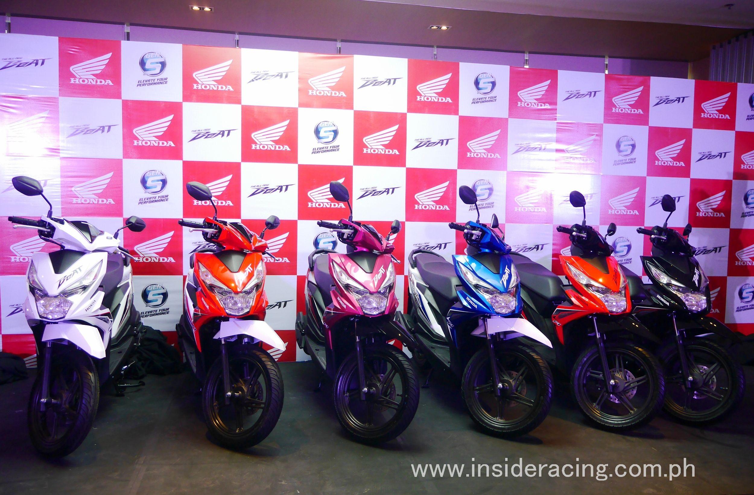 Ir News Honda Philippines Launches All New Honda Beat Insideracing