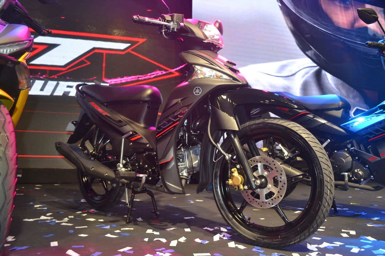 see it your way  115cc yamaha moped unveiled at dealer