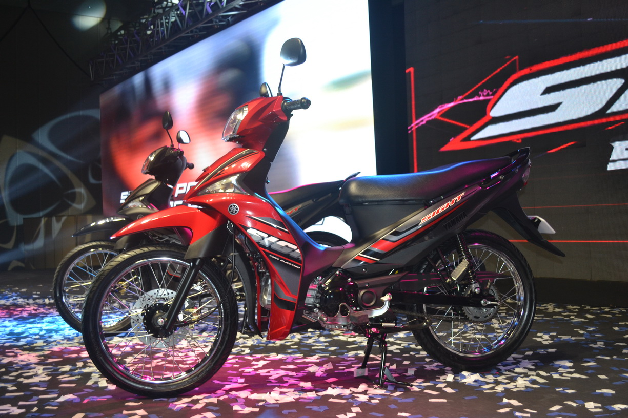 Change Air Filter >> See it your way: 115cc Yamaha moped unveiled at dealer ...