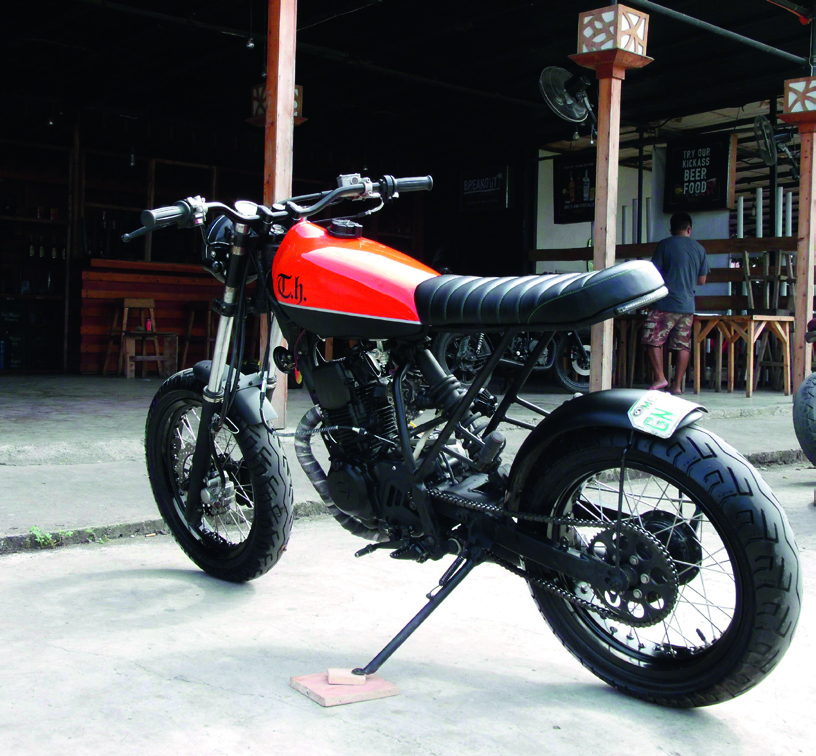 Yamaha Serow 225 Scrambler/Tracker – by TH Custom Build Cycles of