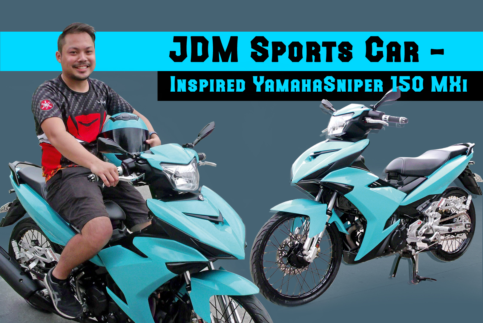 JDM Sports Car -Inspired Yamaha Sniper 150 MXi from Cebu City