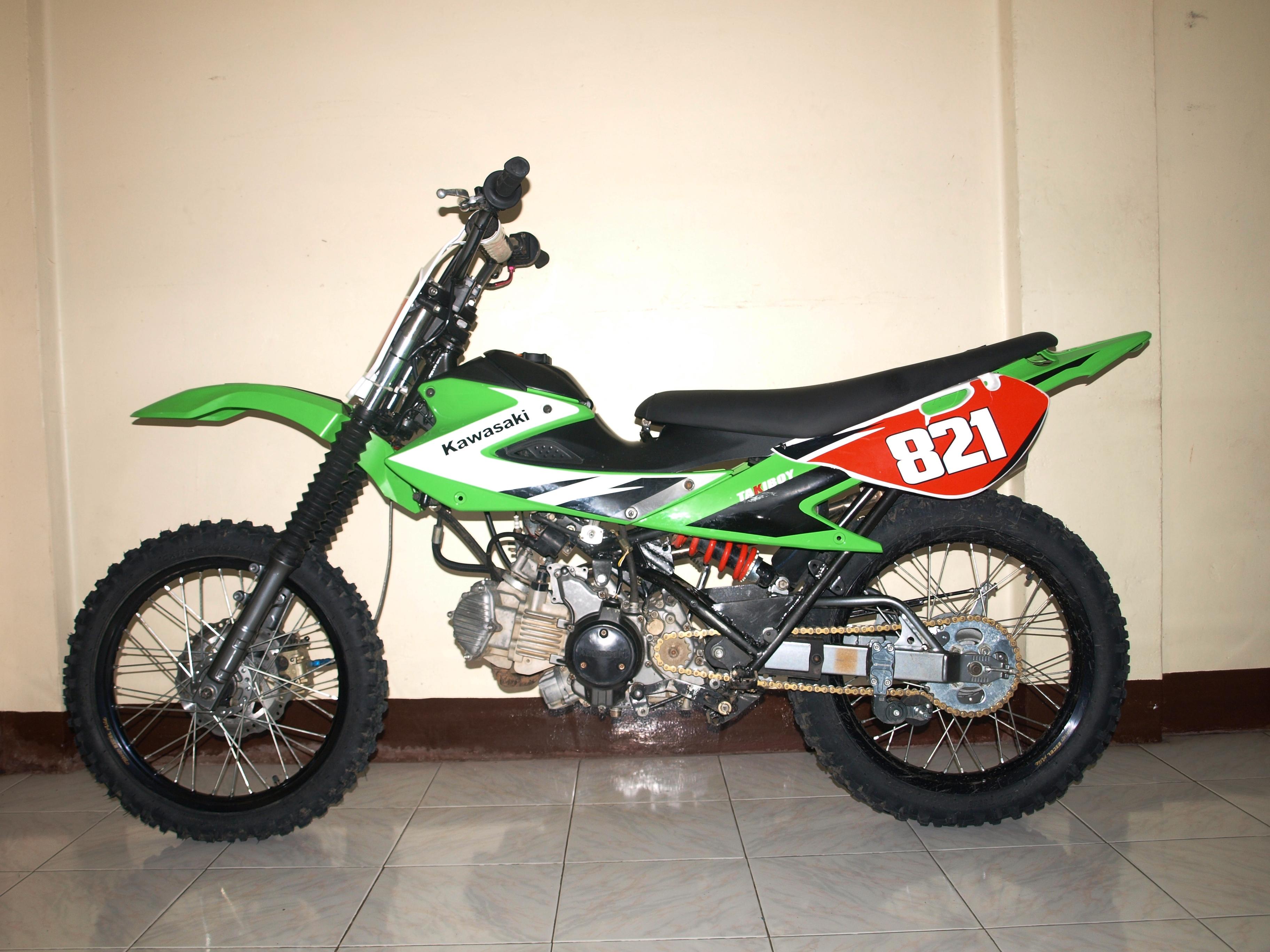 Kawasaki Fury 125 Dirt Bike
