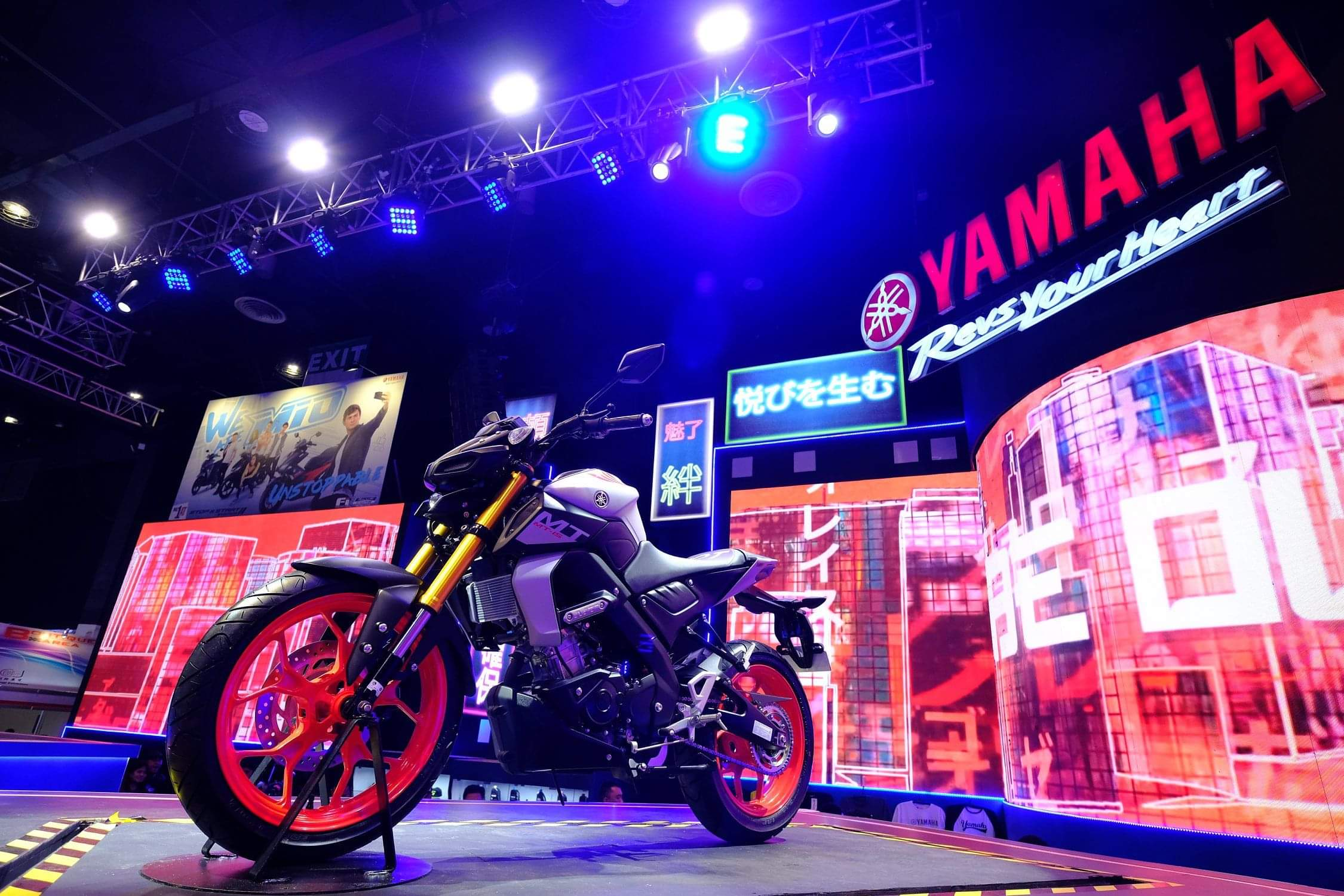 MT-15 unveiled at the IR Bikefest