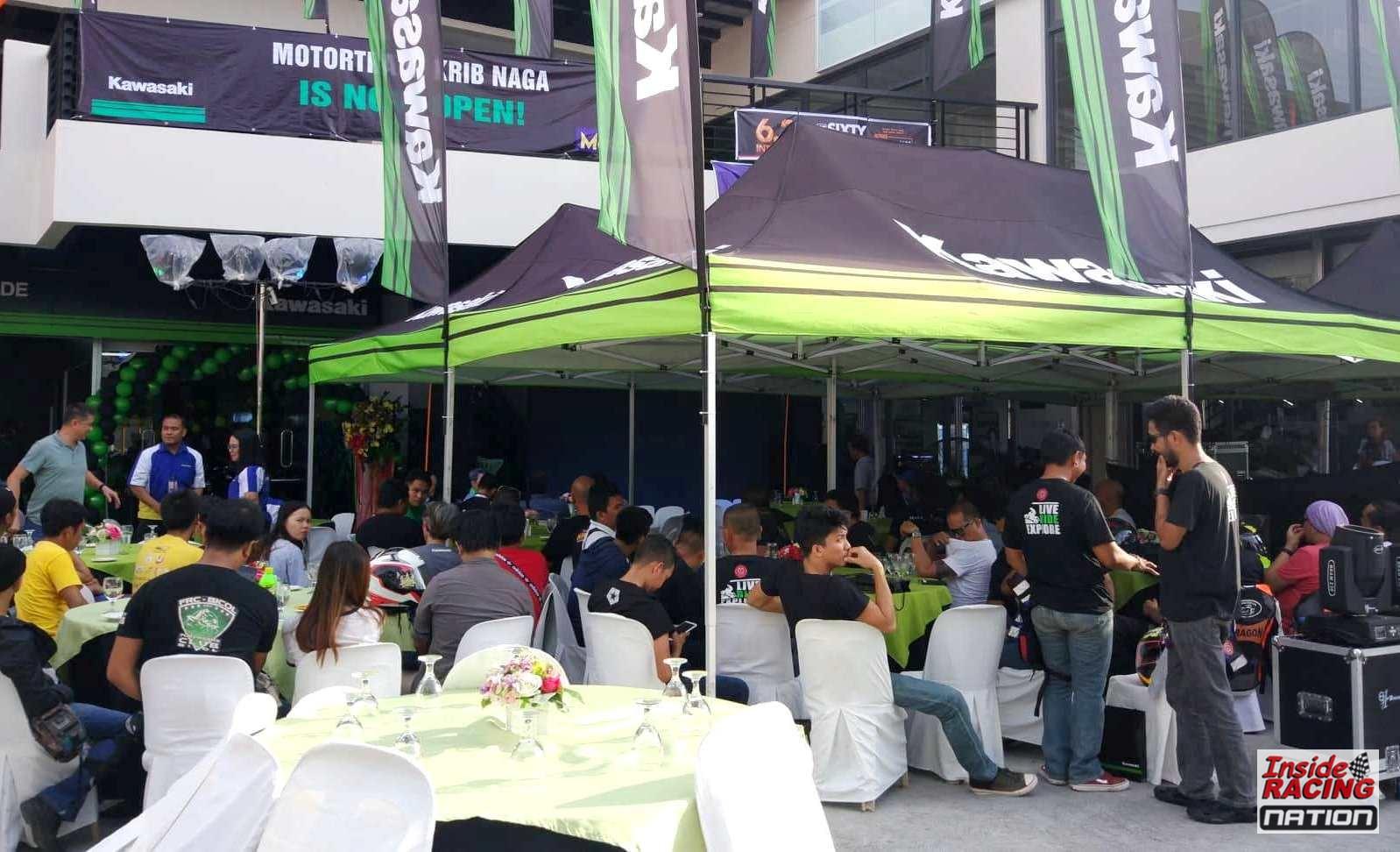 Kawasaki Big Bikes Store Opened by Motortrade in Bicol