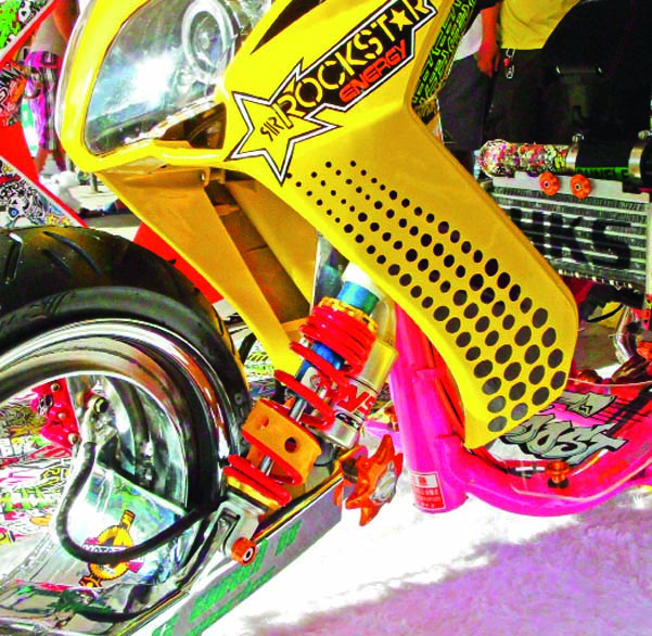 Hubless Intercooler Turbo Charged Yamaha Mio Sporty Insideracing