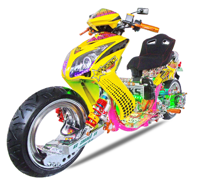 Hubless Intercooler Turbo Charged Yamaha Mio Sporty Insideracing