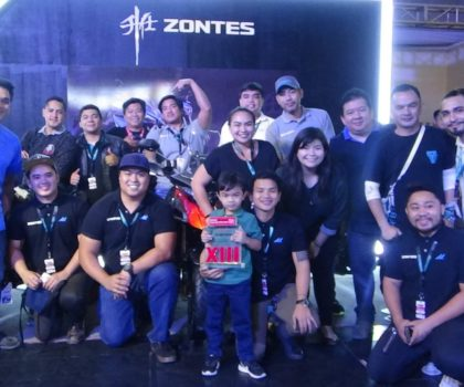 The Motostrada team at the IR Bikefest World Trade Center