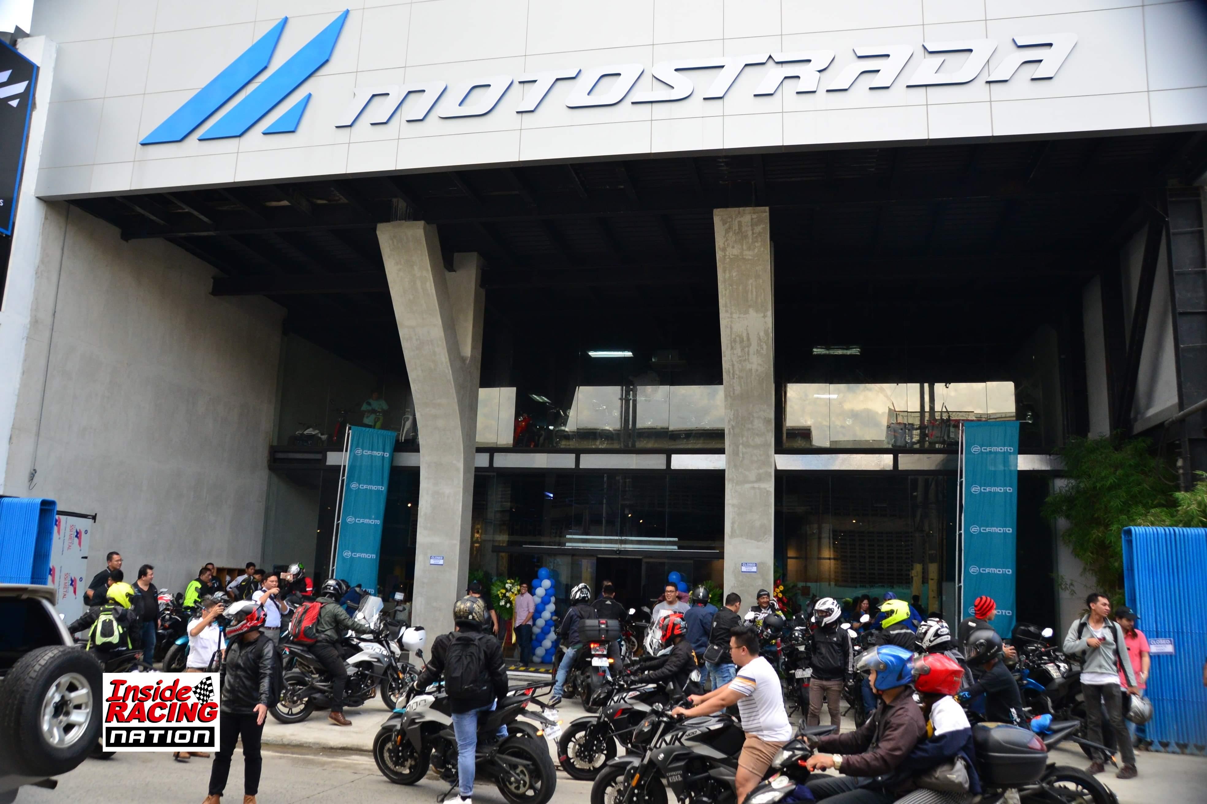 Motostrada opening last year.