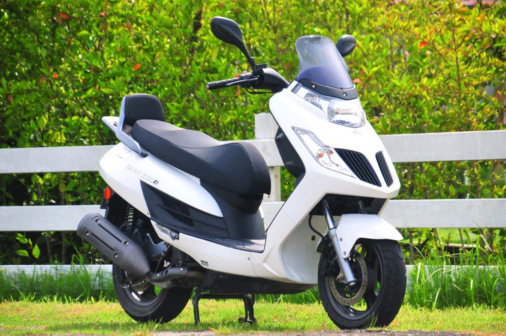 2011 Kymco Dink 200i Ride Review World Class Insideracing