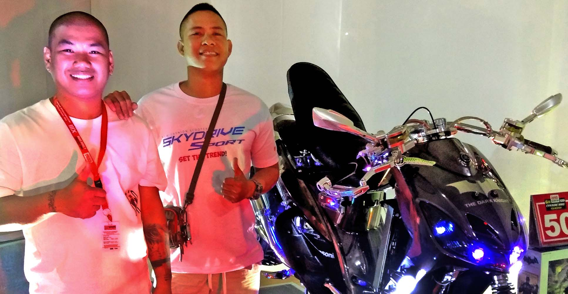 Batmobile Inspired Super Show Scoot From Tiaong Quezon