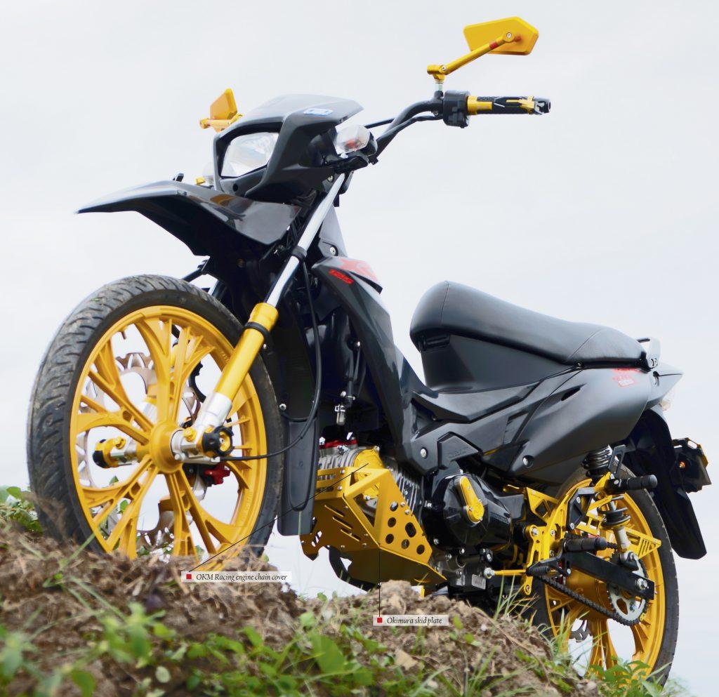 Honda Xrm With Okimura Okm Racing Parts And Accessories Insideracing